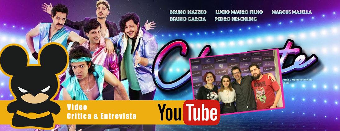 Crítica do filme Chocante & Entrevista com Bruno Mazzeo e Klara Castanho
