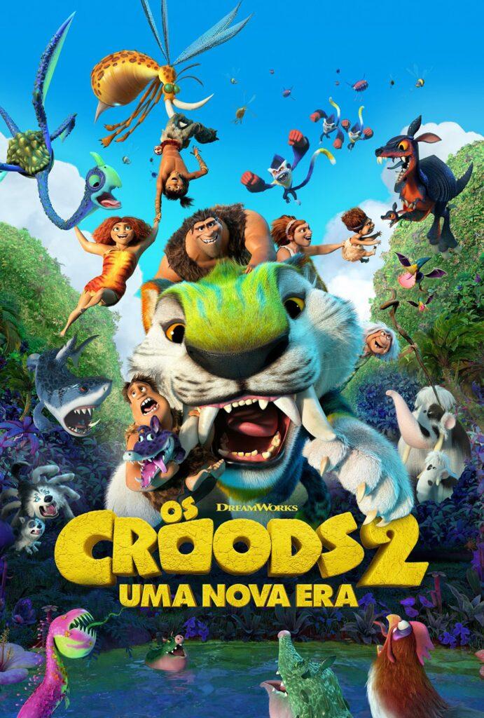 A sequência da animação de 2013 mostra como a família mais querida da idade da pedra, os Croods, precisa se adaptar para enfrentar novos desafios.